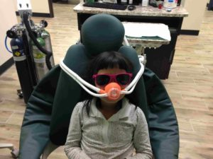 Laughing gas for kid