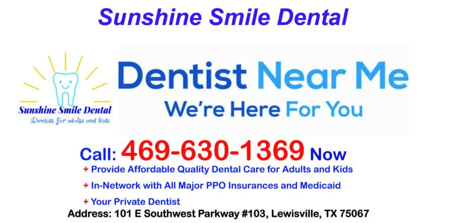 Dentist Near Me - Sunshine Smile Dental at Lewisville